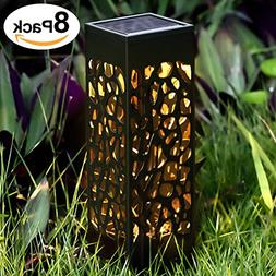BEAU JARDIN Solar Lights Outdoor Garden Powered Path Lightin