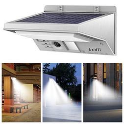 Solar Lights Outdoor Motion Sensor, iThird 21 LED 330LM Sola