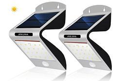 Solar Lights Outdoor Motion Sensor, AWILWIN 20 LED Super Bri