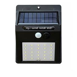 LED Solar Lights Outdoor Motion Sensor Wall Light Outdoor Wa