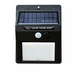 LED Solar Lights Outdoor Motion Sensor Wall Light Outdoor Wa