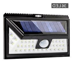 Elecer Solar Lights Outdoor Motion Sensor Wireless 36 LEDs W