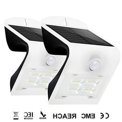 HONESTEAST Solar Lights Outdoor,Solar Powered Security Wall