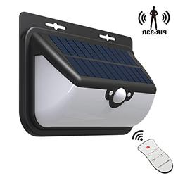 Outdoor Solar Lights Wide Angle Design Super Bright 48 LED W