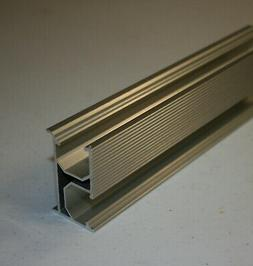Solar Mounting Rail 88 in or 7.3 feet rail.  Three or more r