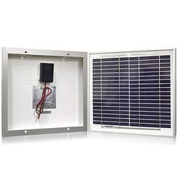 Solar Panel 10 Watt, Powereco 10W Polycrystalline Solar Char