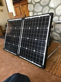 Solar Panel 100-Watt 12-Volt Poly for off The Grid Battery C