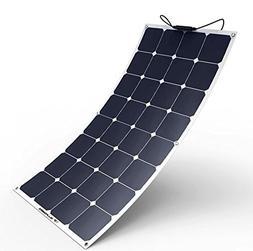 ALLPOWERS Solar Panel 100W 18V 12V Bendable Flexible Solar C