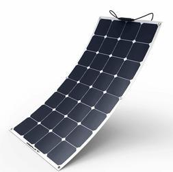 Solar Panel 100W 18V 12V Bendable Panel  Flexible Solar Char