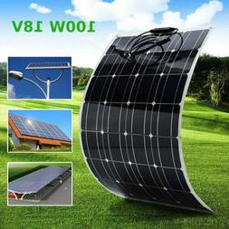 Solar Panel 100W Monocrystalline Solar Cell Flexible for Car