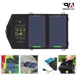 ALLPOWERS Solar Panel 10W 5V Solar Charger Portable Solar Ba