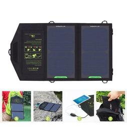 Solar Panel 10W Portable Battery Charger iPhone 6 6s 7 7plus