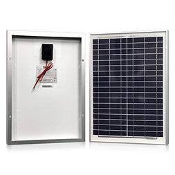 Solar Panel 20 Watt, Powereco Polycrystalline 20W Solar Char