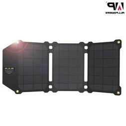 Solar panel 21W portable foldable charger batteries phone du