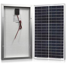 Solar Panel 30 Watt, Powereco 30W Polycrystalline Solar Char