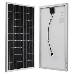 Solar Panel 40 Watt, Powereco 40W Polycrystalline Solar Char