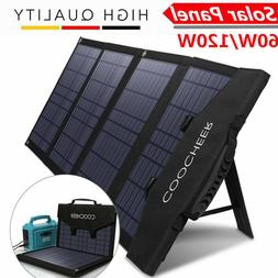 COOCHEER Solar Panel 16W~120W Portable Foldable for Power St