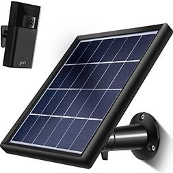 TOODOO Solar Panel for Ring Stick up Cam , Cable with Micro