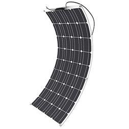 Solar Panel, GIARIDE 18V 12V 100W High-Efficiency Monocrysta