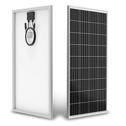 ALLPOWERS 100W 18V 12V Solar Panel with MC4 Connector Solar