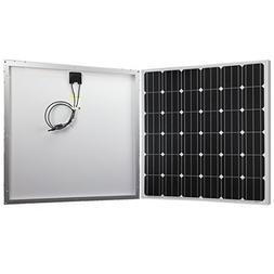 Powereco 150W Solar Panel, Monocrystalline for RV, Boat 12V