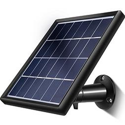 TecUnite Solar Panel for Ring Stick up Cam, Keeping Stick up