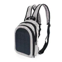 Solar Panel Backpack Usb Charging