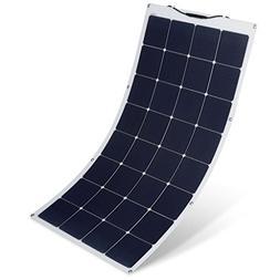 SUAOKI 150W 18V 12V Solar Panel Charger Monocrystalline Flex