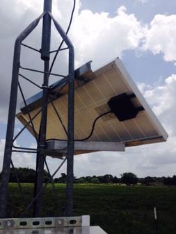 Solar Panel Bracket Solar Mounting 45 degree Side Of Pole Mo
