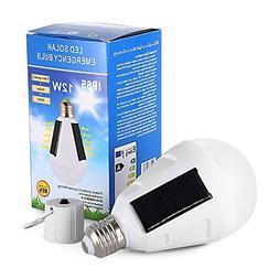 12W Solar Panel LED Bulb, Emergency Lamp, Solar Led Lamp, Po