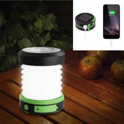 Suaoki Solar Panel Camping LED Lantern Night Light Foldable