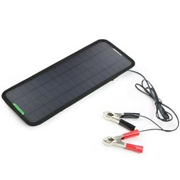 Solar Panel Car Charger 12v Battery Maintainer For Automobil