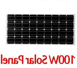 Solar Panel Cell Module System Home Boat Panels Charger Mono