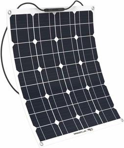Solar Panel Charger 50W 18V 12V Water/Shock/Dust Resistant S