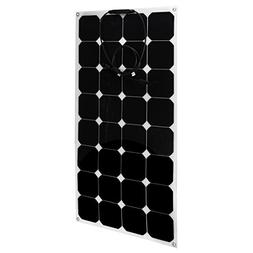100W 12V Solar Panel Charger Solar Cell Ultra Thin Flexible