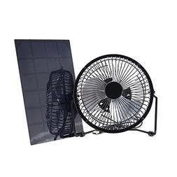Xlight.ca Solar Panel Fan Mini Portable Cooling USB Solar Ch