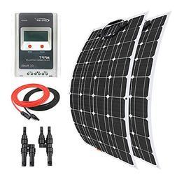 Giosolar Solar Panel 200 Watt 12 Volt Flexible Solar Panel K