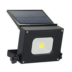 GDEAST 10W Solar Panel led Flood Light Portable Camping Lant
