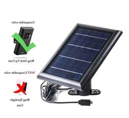 Solar Panel for Ring Stick Up Cam, Power your Ring Outdoor C