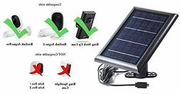 Solar Panel for Ring Stick Up Cam Power your Ring Outdoor Ca