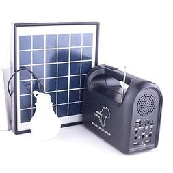 GGGarden 9V 3W Solar Panel Solar Generator Led Light Emergen