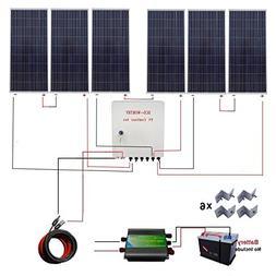 ECO-WORTHY 1000 Watt 1KW 24 Volt Solar Panel Off Grid RV Boa