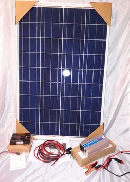 Solar Panel Kit 100 Watt /1000WCP/2000WPP/ Inverter 12V-RV-B