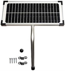 10 Watt Solar Panel Kit  for Mighty Mule Automatic Gate Open