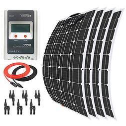 Giosolar 400 Watt 12 Volt Solar Panel Kit Battery Charger Fl