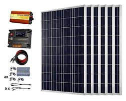 ECO-WORTHY 600 Watts  Solar Panel Kit with 20A LCD Charge Co