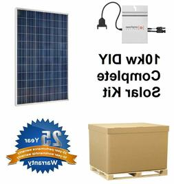 Solar Panel Kit with Enphase m215 - Do It Yourself for Home