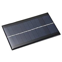 Foxpic 6V Solar Panel Module 166mA 1W Mini DIY for Light Pho