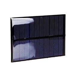 1W 5V Solar Panel Module Solar System Cells Epoxy Charger DI