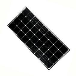 ALEKO Solar Panel Monocrystalline 140W for any DC 12V Applic